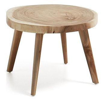 Stolik kawowy Creswell 65x41 cm drewniany