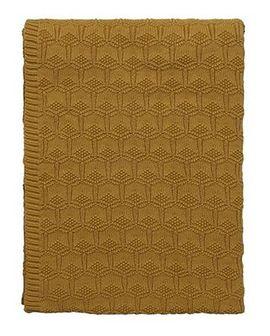 Narzuta Deco Knit 130x170 cm złota
