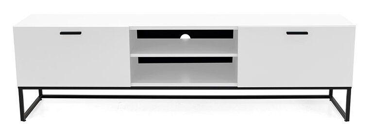 Szafka RTV Mello 176x54 cm biała