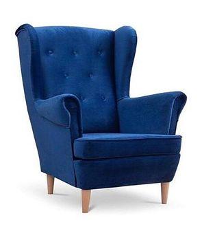 Fotel uszak Lily w stylu skandynawskim - Meb24.pl