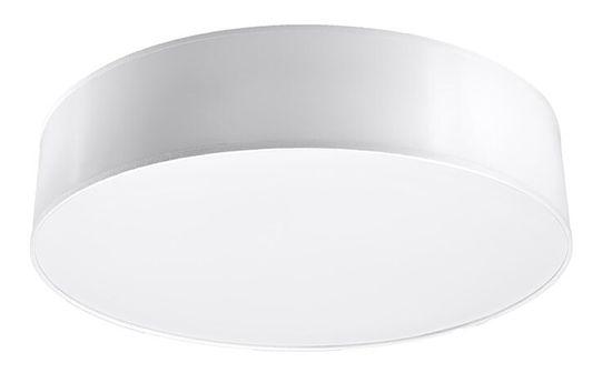 Biały minimalistyczny plafon - EX507-Arens