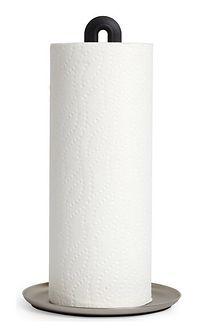 Stojak na ręczniki papierowe Keyhole 17x32 cm czarny