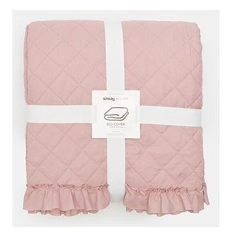 Sinsay - Narzuta na łóżko - Różowy