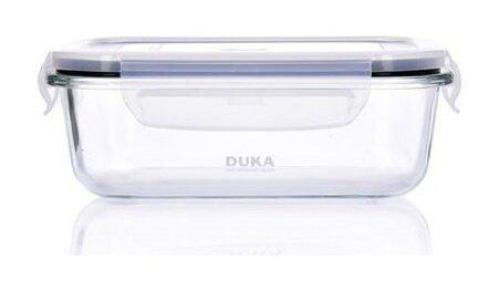 Pojemnik na żywność lunchbox DUKA KITCHEN 1500 ml szkło
