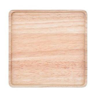 Podstawka pod naczynia taca DUKA MODULAR 17x17x2 cm brązowa drewno