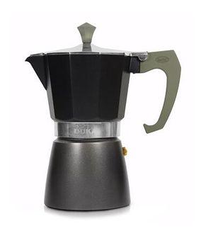 Kawiarka na indukcję DUKA TRYCK czarna aluminium