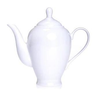 Dzbanek do herbaty DUKA FELICIA 1300 ml biały porcelana