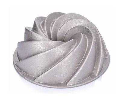 Forma do pieczenia babki spirala DUKA GODIS 10 cm aluminium