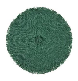 Podkładka okrągła DUKA DAGLIG 35 cm zielona polipropylen
