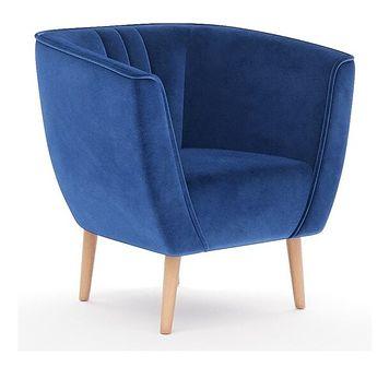 Fotel na nóżkach w stylu Skandynawskim - PAS