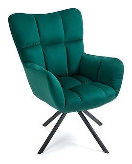 Duży, wygodny fotel - butelkowa zieleń JOHNSON (SC-8053)