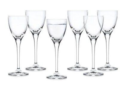 Kieliszki do wódki likieru DUKA VICTORIA 6 sztuk 60 ml szkło