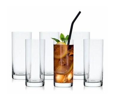 Szklanki do napojów DUKA FINN 6 sztuk 300 ml szkło