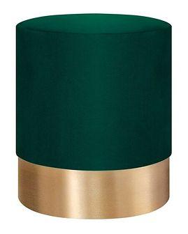FICA Puf zielono-złoty 35x42 cm - Homla