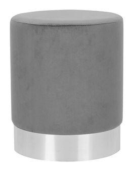 FICA Puf szaro-srebrny 35x42 cm - Homla