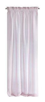 SELSEY Firana Zayden 140x270 cm matowa różowa
