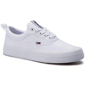 Tenisówki TOMMY JEANS - Classic Tommy Jeans Sneaker EN0EN00540 White 100