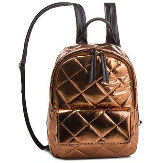 Plecak TWINSET - Zaino OA8TBQ Bronzo Lamin 03115