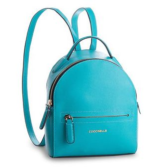 Plecak COCCINELLE - BF5 Clementine E1 BF5 54 01 02 Turquoise 028