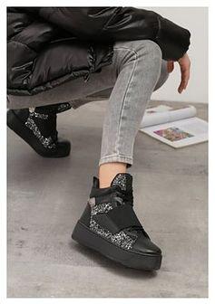Czarne Sneakersy Xevera