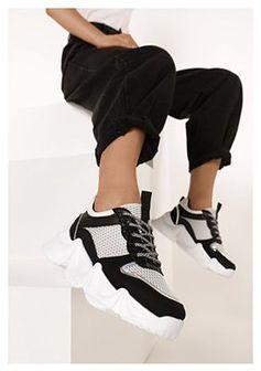 Czarne Sneakersy Deximenis