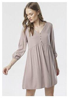 Beżowa Sukienka Mystiax