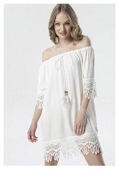 Biała Sukienka Rhaeneira