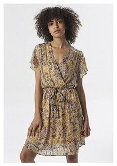 Żółta Sukienka Chenetune