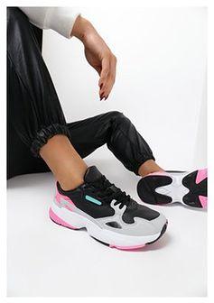 Czarno-Różowe Sneakersy Ginororin