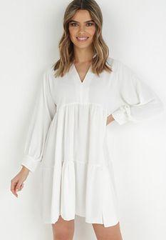 Biała Sukienka Fellisa