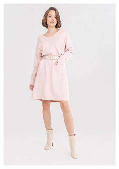 Różowa Sukienka Winlyn