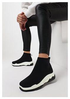 Czarne Sneakersy Thelola