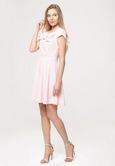 Różowa Sukienka Treat Me