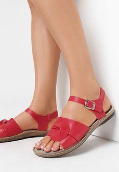Czerwone Sandały Falling Water