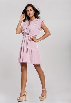 Różowa Sukienka With Something