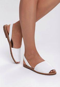 Białe Sandały Aware