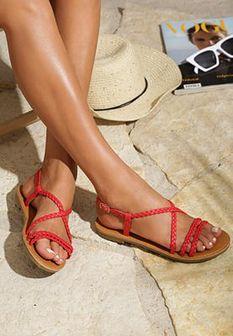 Czerwone Sandały Sand