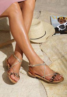 Panterkowe Sandały Forgetful