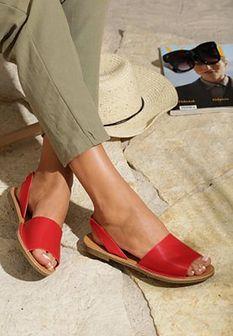 Czerwone Sandały Cowardly