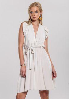 Jasnobeżowa Sukienka Unsure