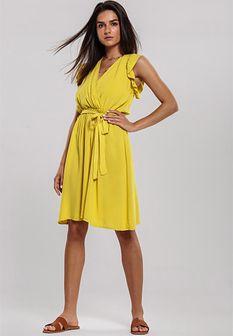 Żółta Sukienka Unsure
