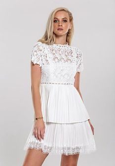 Biała Sukienka Yearlong