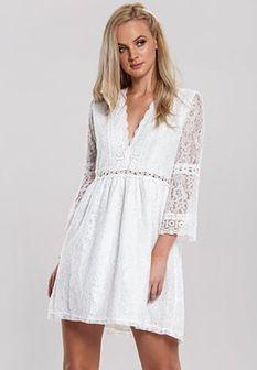 Biała Sukienka Mattress