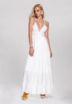 Biała Sukienka Pontoon
