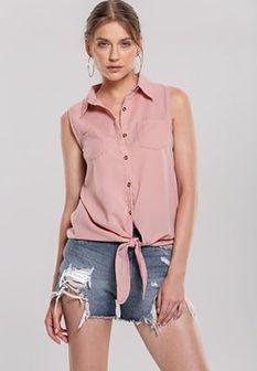 Różowa Koszula Inconvenience