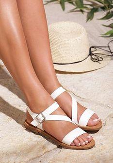 Białe Sandały Avalanche Of Beauty