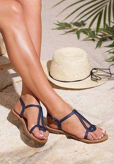 Niebieskie Sandały Avalanche Of Women