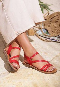 Czerwone Sandały Jet