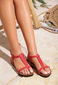 Czerwone Sandały Kiss Of Summer
