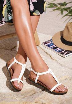 Białe Sandały Kiss Of Summer